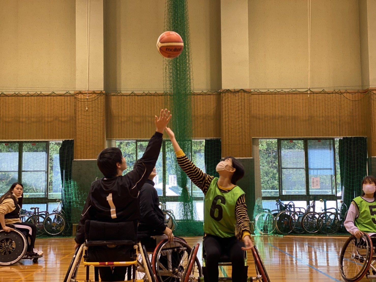 車いすバスケットボールを体験🏀メイン画像